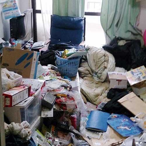 不用品回収、ゴミ屋敷、遺品整理