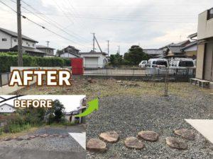 【浜松市】不用品回収や伐採、草刈り