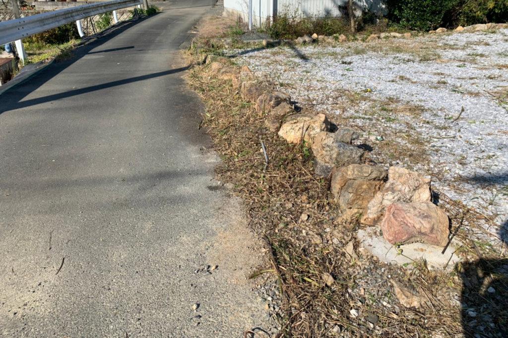 浜松市の草取り作業後