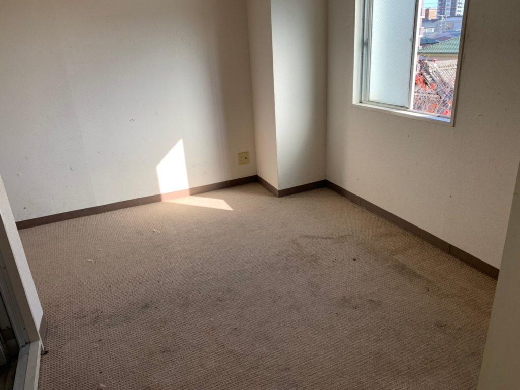 【浜松市】1Rの片付け、不用品回収の部屋作業後