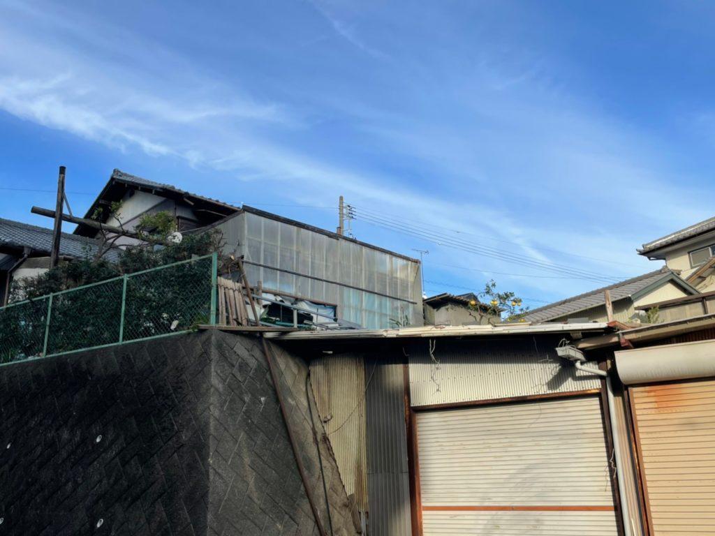 【掛川市】木の伐採、剪定後