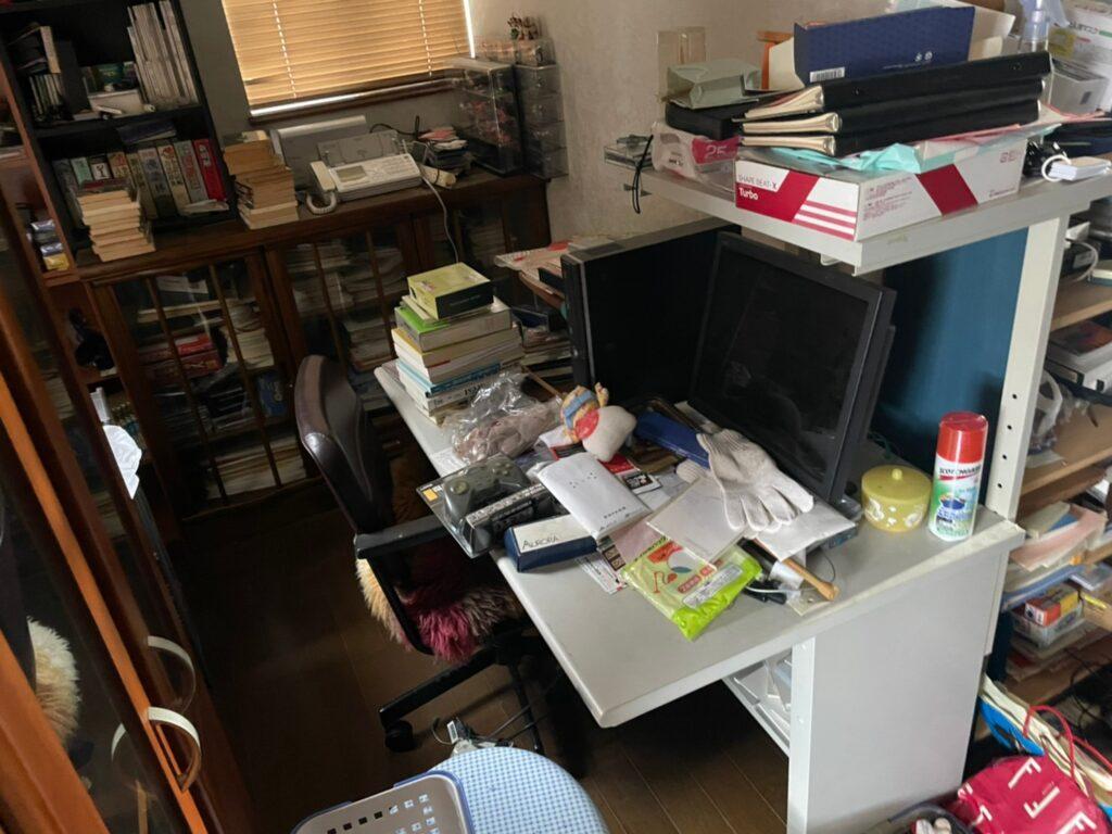 【磐田市】おうち全体の片付けと不用品回収作業前