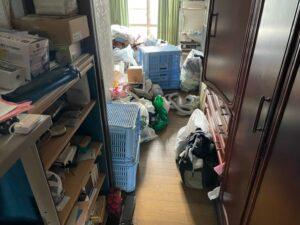 【磐田市】おうち全体の片付けと不用品回収作業中