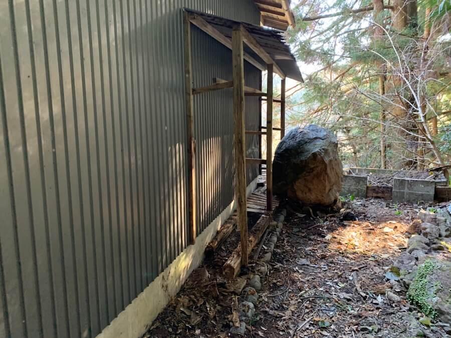 【浜松市天竜区】山奥の物置小屋の片付けと不用品回収片付け後