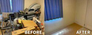 浜松市の引っ越し不用品部屋内
